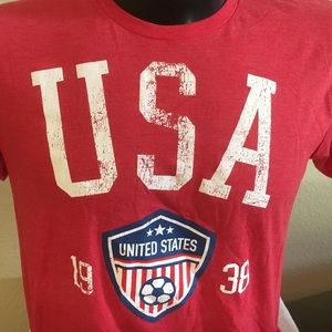 Adult Fifthsun USA soccer Short Sleeve T-Shirt